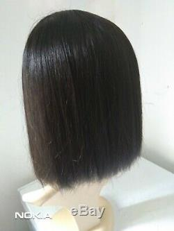100% Brazilian Remy Human hair 134 Big wig 12'. Exactly as the picture