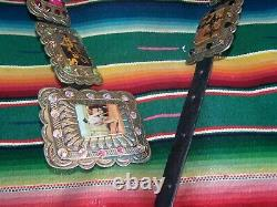 $425SOLD OUTWestern Rocker Cowgirl Rodeo Horse Picture Concho BeltSissie & Me