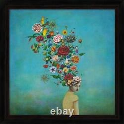 A Mindful Garden, by Duy Huynh Framed Art Wall Picture, 24x24