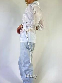 Ann demeulemeester patti smith spring 2000 shirt mind is a picture