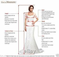Long Evening Wedding Party Dress Formal Prom Pageant Gown Celebrity Dresses