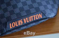 Louis Vuitton Damier Cobalt Race Discovery Bumbag. Real Picture