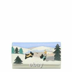 Matching Set RADLEY'AT HOME IN THE SNOW' Signature Picture GRAB BAG & PURSE NEW