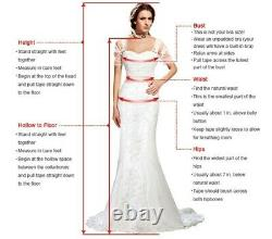 Mermaid Beaded Lace Formal Celebrity Gowns Evening Dresses Party Pageant Prom