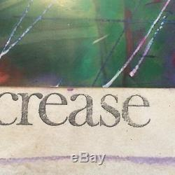 Mixed Media Manner Of Rauschenberg Photograph Hand-colored Signed Surreal Pop