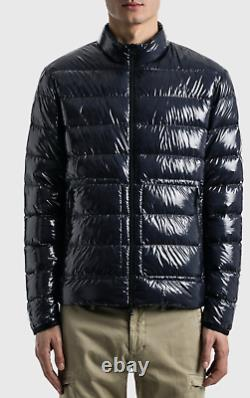 Moncler Agar Giubbotto Quilted Down Jacket Glossed-Ripstop Daunenjacke Jacke L