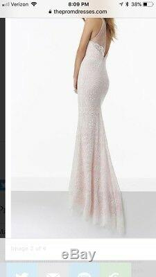 Mori Lee prom dress by Madeline Gardner size 2, but fits closer to size 4