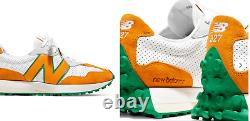 New Balance + Casablanca 327 Suede-Trimmed Leather Sneakers Schuhe Shoes 40,5