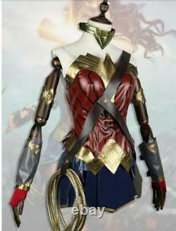 New Wonder Woman Costume Adult Halloween Cosplay Costume Outfit & Props R531