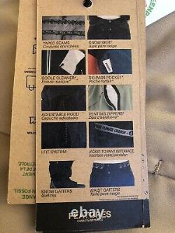 Picture Organic Women's Insulated Exa Ski and Snowboard Pants Large Sand WPT059