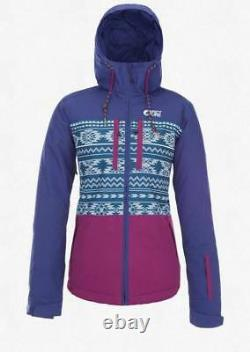 Picture Organic Women's Mineral Jacket in Dark Blue Small or Large NWT 2018