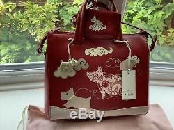 RADLEY'IF PIGS COULD FLY' Signature picture Grab Bag BNWT limited edition Xmas