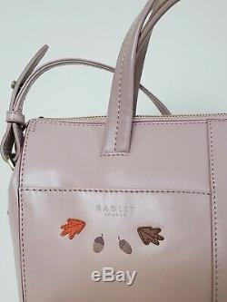 RADLEY London Autumn Days Leather Ziptop Multiway Limited Edition Picture Bag
