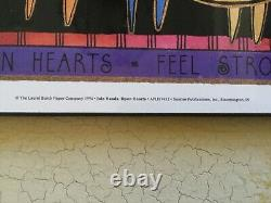 RARE Laminated LAUREL BURCH picture, Join Hands, Open Hearts, 1994, NEW