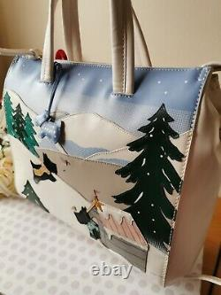 Radley At Home In The Snow Limited Edition Collectible Picture Bag Bnwt