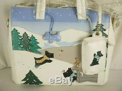 Radley At Home In The Snow Signature Picture Multiway Shoulder or Grab Bag Large