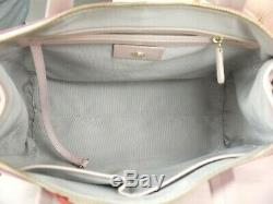 Radley Autumn Days Pink Leather Signature Picture Multiway Bag Used