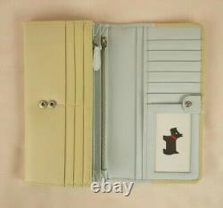 Radley Beside The Seaside Leather Signature Picture Matinee Purse Wallet Large