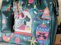 Radley Deck The Tree Signature Collectible Picture Bag With Coin Purse Bnwt
