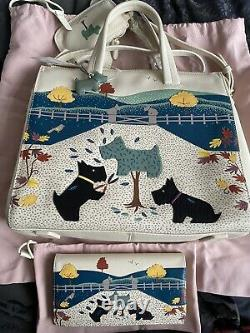 Radley Dog Of The Manor Signature Multiway Picture Bag & Matinee Purse