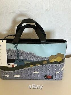 Radley Limited edition Picture Signature Bag The Cottage