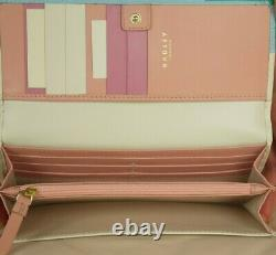 Radley Little Venice Large Signature Picture Matinee Leather Purse Wallet New