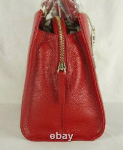 Radley Londons Calling Hello London Picture Multiway Cross Body Bag Red Leather
