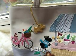 Radley Market Day Limited Edition Signature Picture Bag Immaculate Condition
