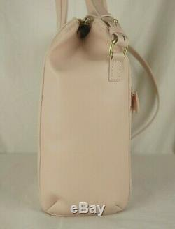 Radley Over The Hills Pink Leather Signature Picture Multiway Bag New