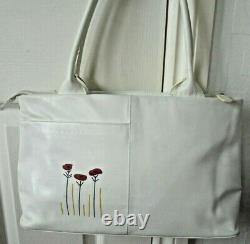 Radley Poppyfields Poppies Picture Bag Signature Bag Large Ship Worldwide