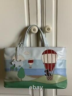 Radley Signature Bag Picture Bag Up Up and Away Hot Air Balloon