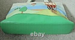 Radley Signature Bag Picture Bag Up Up and Away Hot Air Balloon Ship Worldwide