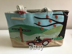 Radley Signature Leather Picture Bag'Away Day' AW 2005