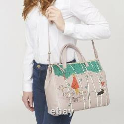 Radley Signature Picture Bag Leader of the Pack Nude Pink RRP£249