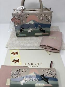 Radley Signature Picture Games Multiway Bag With Matinee Purse Gift Boxed