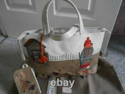 Radley Signature Picture Potting Shed Bag, with coin purse /dogtag Cost £199