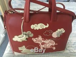 Radley Signature/picture Bag If Pigs Could Fly