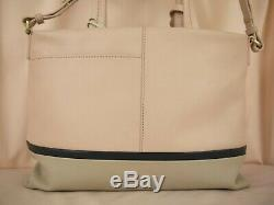 Radley and Friends Signature Picture Multiway Pale Pink Leather Cross Body Bag