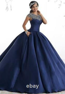 RoyalblueCelebrity Formal Prom Party Quinceanera Ball Gown Pageant Evening Dress