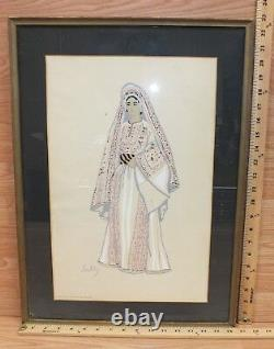 Southby #2 Photo ONLY of Arab Woman of Ramallah (Near Jerusalem) in Frame READ