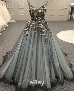 Vintage Gothic Sweet Quinceanera Prom Dresses Wedding Party Bridal Evening Gowns