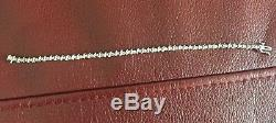 Women's bracelet 10kt white gold 50 small genuine diamond(lost one, see picture)